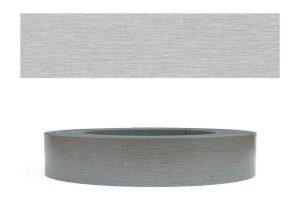 Mprofi MT® (10m rolle) Melaminkantenumleimer Umleimer mit Schmelzkleber Edelstahl glatt 22mm