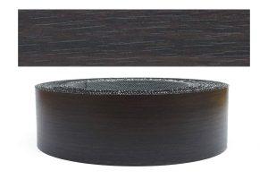 Mprofi MT® (10m rolle) Melaminkantenumleimer Umleimer mit Schmelzkleber Eicher schwarz Pore 45mm