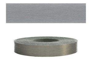 Mprofi MT® (10m rolle) ABS-kantenumleimer Umleimer mit Schmelzkleber Stahl gebürstet 22mm