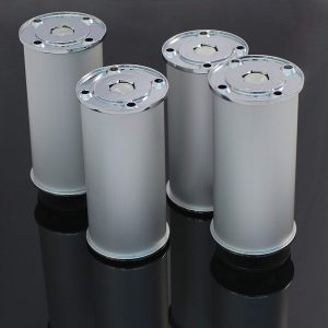 4 X Mprofi MT® Möbelfuß Schrankfuß Verstellbar Höhe 150 mm Ø 50 mm