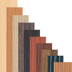 Melamin - Holzdekore