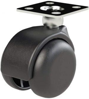 8 X Mprofi MT® Universal Lenkrollen für Möbel Doppelrollen Möbelrollen Laufrollen Bodenschutz Rollen Ø35mm